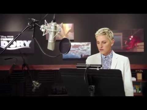 Disney Movie Finding Dory Amazing Voice Cast including Ellen DeGeneres as Dory Mp3