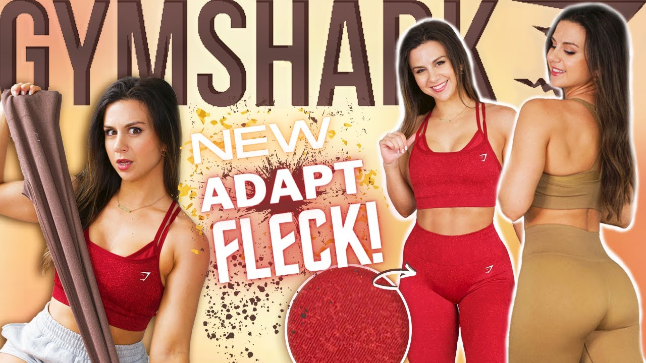 WHAT THE FLECK?! UNRELEASED GYMSHARK ADAPT FLECK TRY ON HAUL REVIEW! GYMSHARK NEW RELEASES!