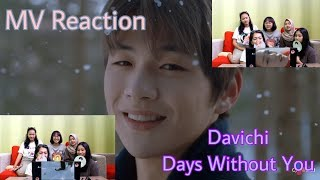 "Pori - pori wajah KANG DANIEL - MV Reaction - Davichi ""DAYS WITHOUT YOU"" - Stafaband"