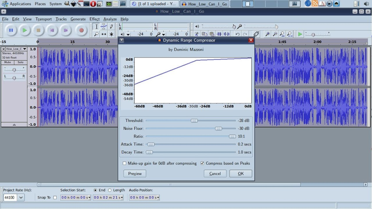 How to fix low-volume audio/video files with FFMPEG (for