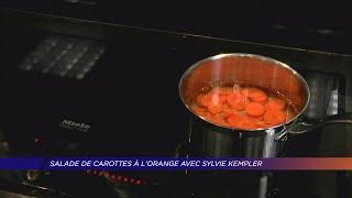 Yvelines | Salade de carottes à l'orange avec Sylvie Kempler