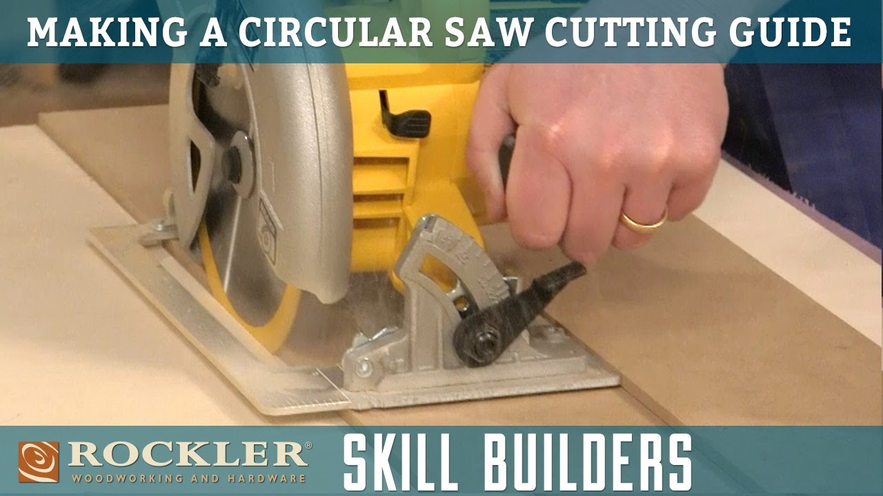how to make saw guide
