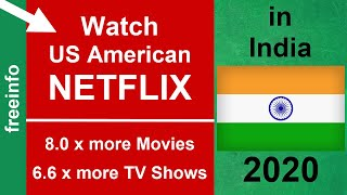 How to get US Netflix in India (2020 Proof!) Watch Netflix with VPN.