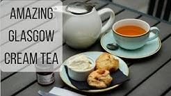 AMAZING Glasgow Cream Tea at Cup Tea Garden