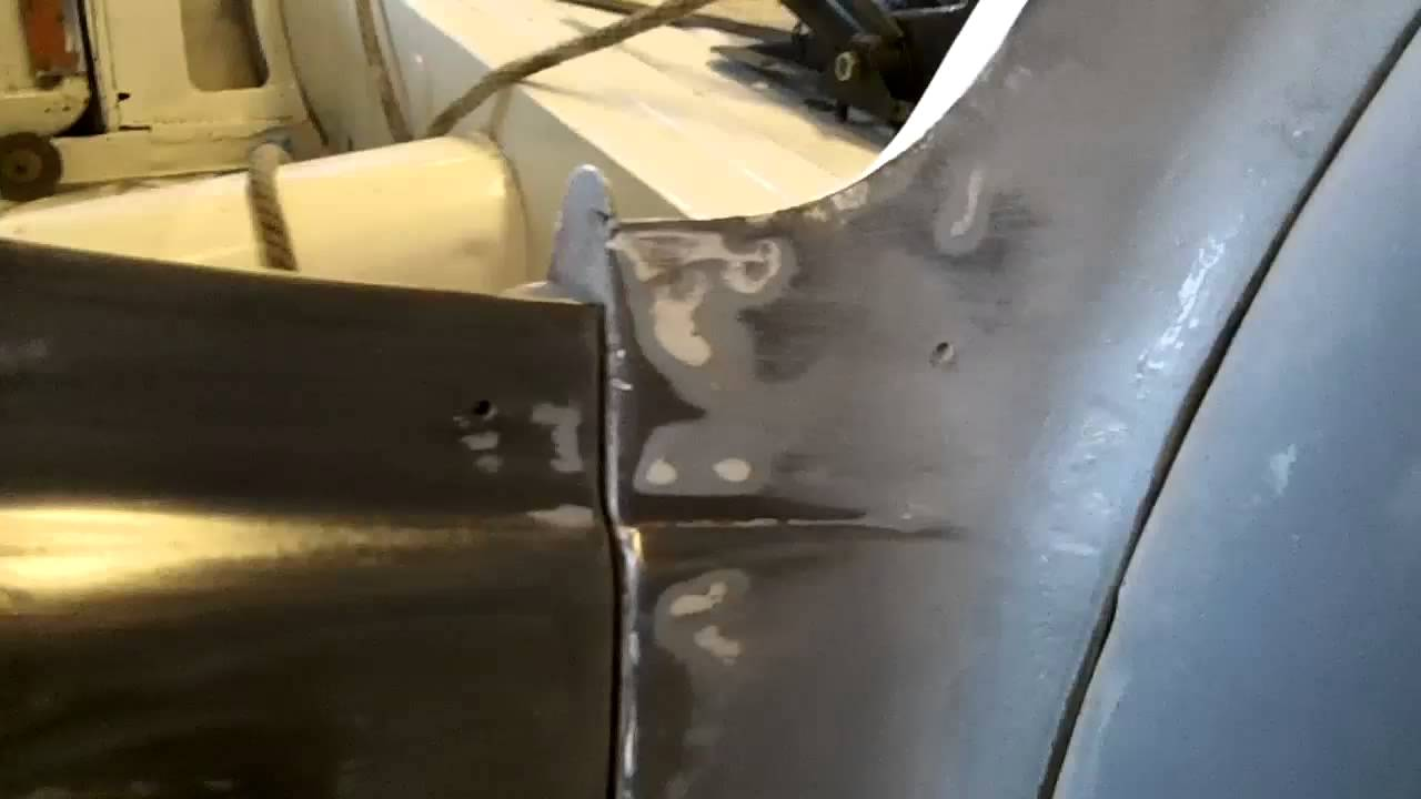 Triumph Tr3a Drivers Side Door Gap Repair Part 1 Youtube
