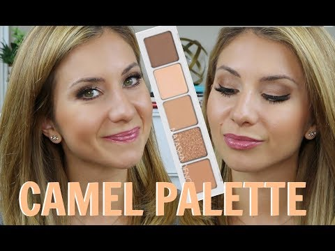 NATASHA DENONA CAMEL Palette Tutorial | Easy Everyday Bronze Eye Makeup thumbnail