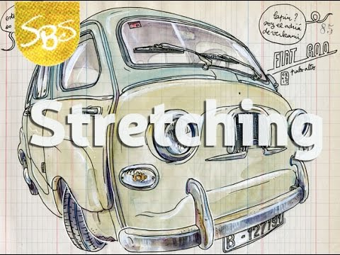 'Stretching' at Sketchbook Skool - a preview