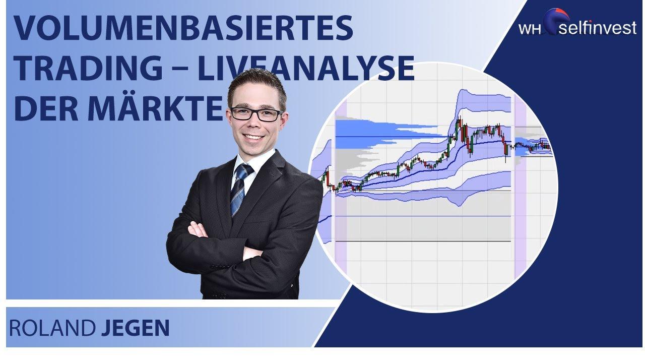 Volumenbasiertes Trading – Liveanalyse der Märkte