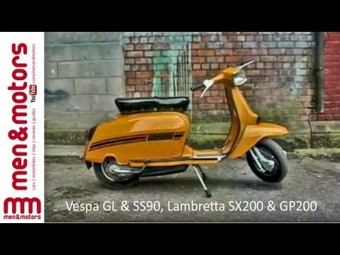 Classic Scooters: Vespa GL & SS90, Lambretta...