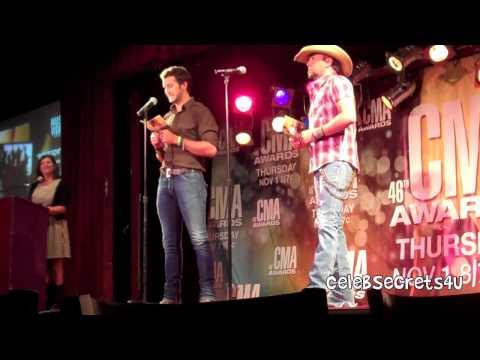 EXCLUSIVE: Luke Bryan & Jason Aldean Announce the 46th Annual CMA Awards Nominees
