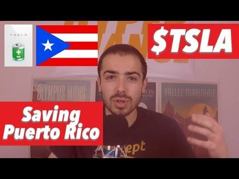 Tesla Saving Puerto Rico & Making Millions