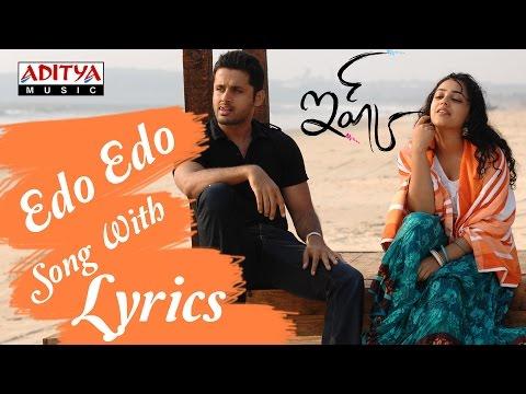 ishq-full-songs-with-lyrics---edho-edho-song---nitin,-nitya-menon,-anoop-rubens