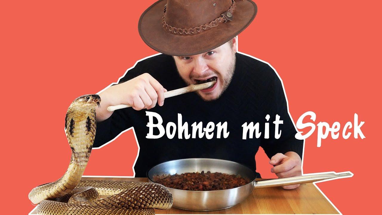 Wie macht man Bohnen mit Speck? - YouTube