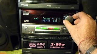 AIWA NSX-V900 / MP3 reading player