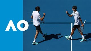 Herbert/Mahut v Bryan/Bryan match highlights (QF) | Australian Open 2019