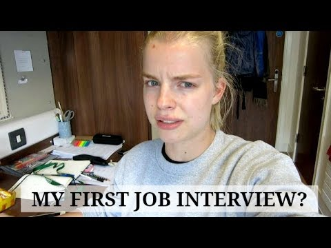 University VLOG 33: My First Job Interview In Scotland