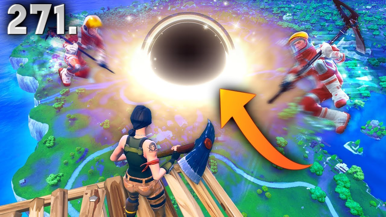 BLACK HOLE IN FORTNITE..?! Fortnite Daily Best Moments Ep ...