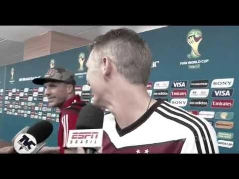 German footballers speaking english - Best compilation ever