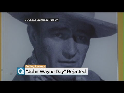 John Wayne Day Rejected By California Assembly