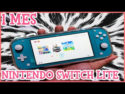 Nintendo Switch Lite Review español   1 mes #emigamer #nitendo #nintendoswitchlite