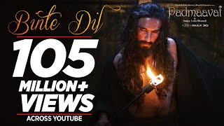 Binte Dil Video Song | Padmaavat (2018)