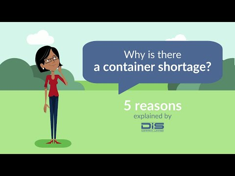 Why is there a container shortage?