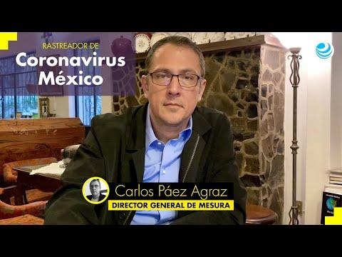 Rastreador de Coronavirus México: 11 de junio de 2020