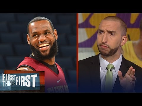 Nick Wright says LeBron is secure with where his legacy will end up | NBA | FIRST THINGS FIRST