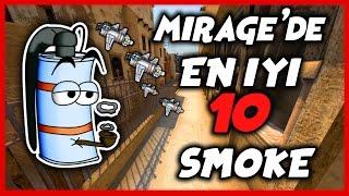 Cs: GO - Mirage En İyi 10 Smoke - T