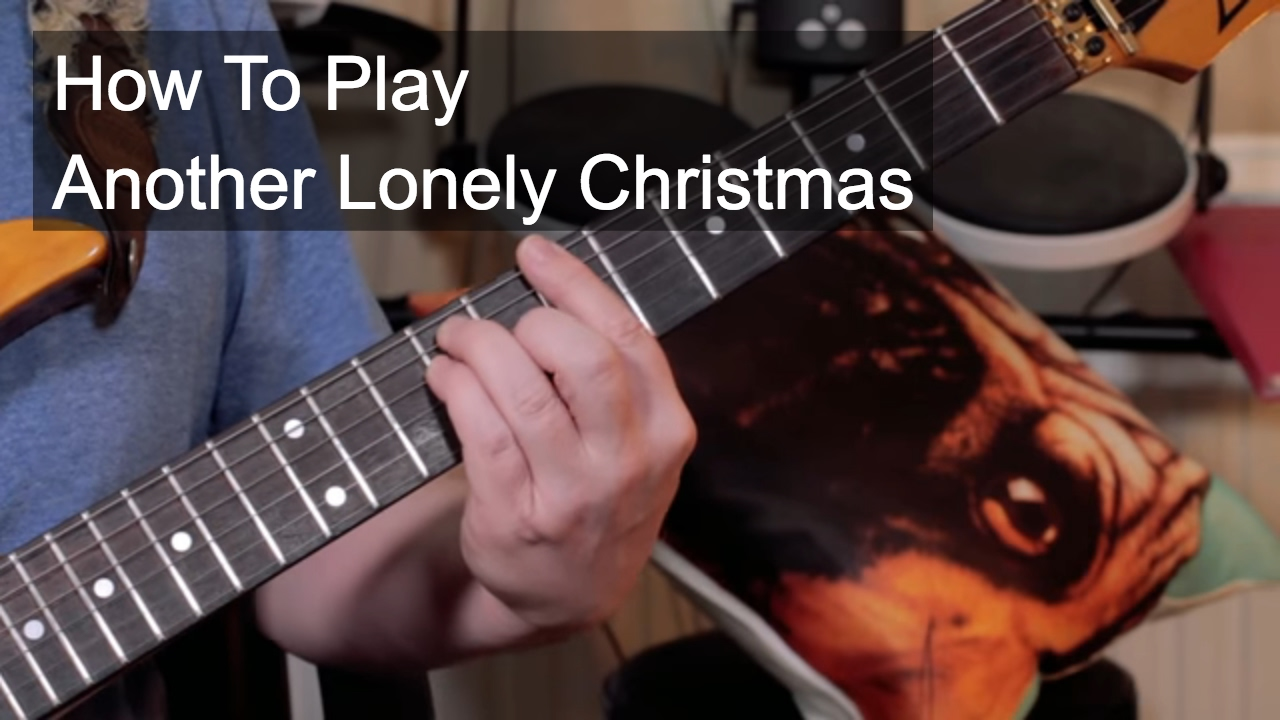 Another Lonely Christmas' Prince Guitar Lesson - YouTube