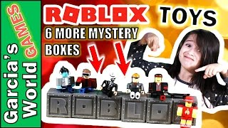 UNBOXING ROBLOX'S MYSTERY BOXES TOYS | Blind Boxes | Toy Figures | #Robloxtoys