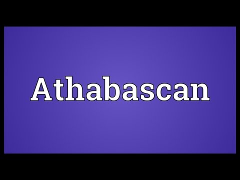 Athabascan Meaning