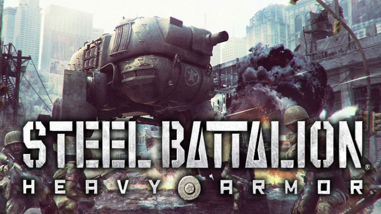 Steel Battalion Heavy Armor Kinect Gameplay And Hands On Epic Mech Battles Youtube