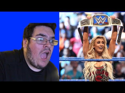 CARMELLA CASHES IN & WINS THE SMACKDOWN WOMAN'S CHAMPIONSHIP EPIC REACTION