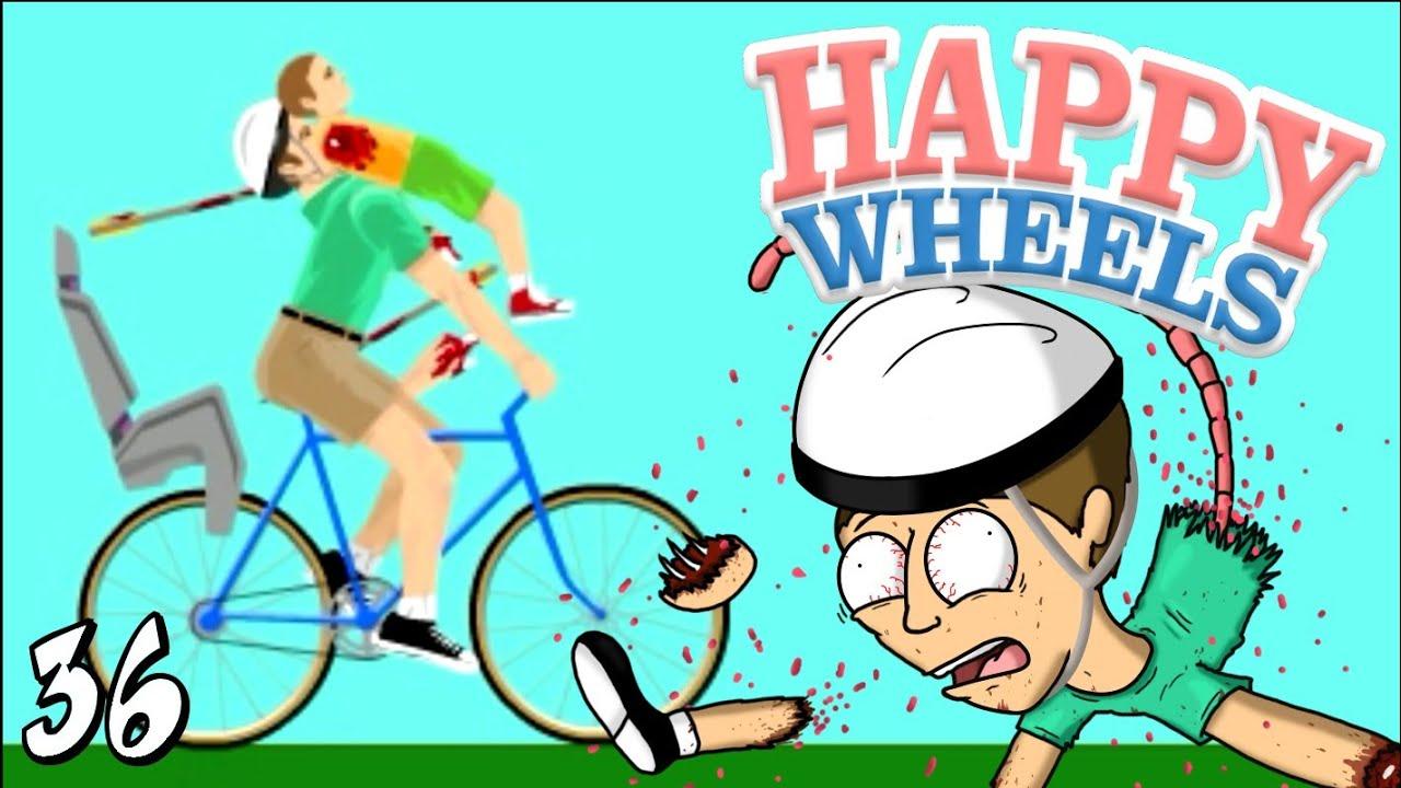 Togliti dalla mia faccia happy wheels ep 36 youtube