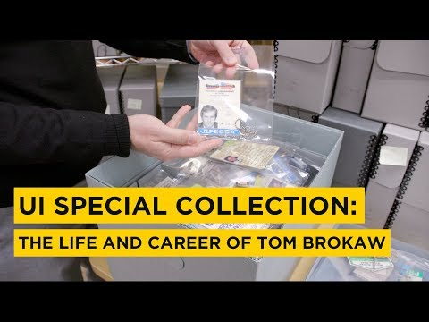 Brokaw Archives at University of Iowa on YouTube