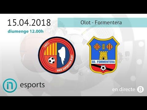 Segona divisió B // Olot - Formentera