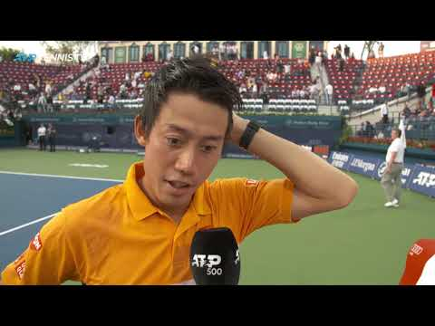 Kei Nishikori Shares Thoughts after Maiden Win In Dubai - Dubai Duty Free Tennis Championships