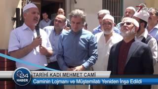 Ahmet Misbah Demircan -Tarihi Caminin Lojmanı ve Müştemilatı Yeniden İnşa Edildi