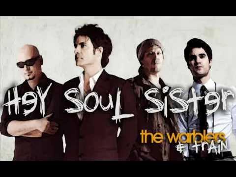 Hey Soul Sister - Train & the Warblers (Glee) Duet!!!