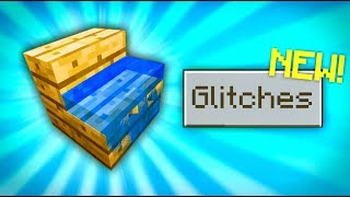 Minecraft - GLITCHES // 5 working glitches [Minecraft PE 1.8.1]