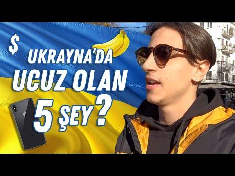 Ukrayna'da Ucuz Olup Türkiye'de Pahalı Olan 5 Şey 🇺🇦