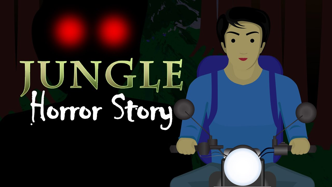 Jungle - English Horror Animated Short Film | Horror Story