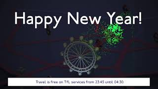 New Years Eve - central London travel