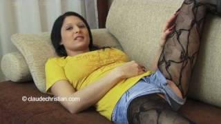 Repeat youtube video pantyhose hotpants
