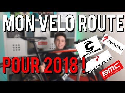 MON VÉLO ROUTE POUR 2018 !! (+ 1ere sortie)