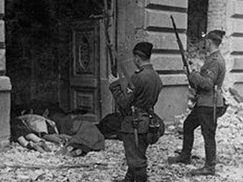 А.Векслер. Варшавское гетто: трагедия подвига