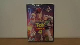 Toy Story 4 (UK) DVD Unboxing