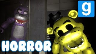 FIVE NIGHTS AT FREDDY'S | GOLDEN FREDDY PRANK, BUNNY KILLS ME!  | GMOD HORROR MAP! (2)