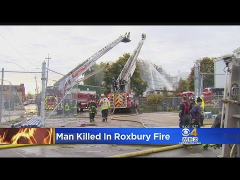 One Killed, One Injured In 3-Alarm Fire At Roxbury Home